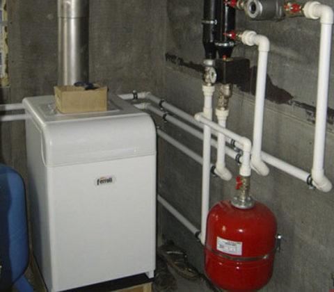 Как правильно установить газовый котел