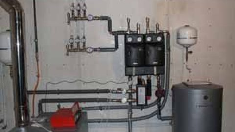 Как подключить котел к системе отопления
